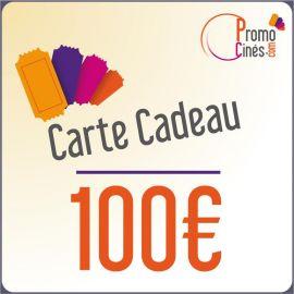 E-Carte Cadeaux électroniques Promo-Cines - 100 euros