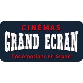 Billet Cinémas GRAND ECRAN - validité jusqu'au 12/10/2019